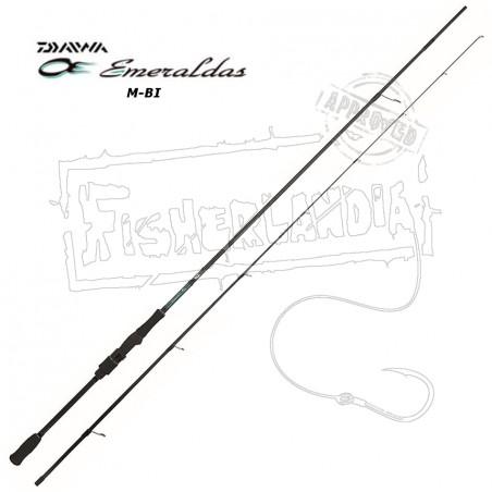 KP4367 Daiwa Canna pesca Egi Esmeraldas 243 Mulinello Revors Treccia x4 FEUG