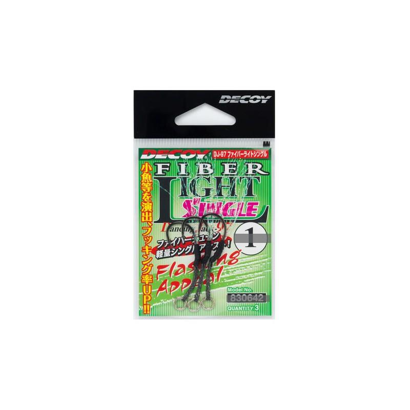 FIBER LIGHT SINGLE HOOK DJ97