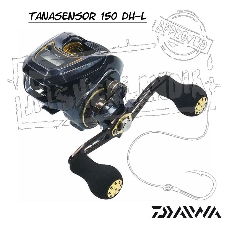 MULINELLO DAIWA TANASENSOR 150 DH-L