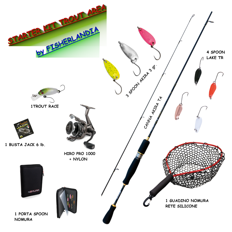 STARTER KIT TROUT AREA
