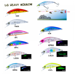 LG HEAVY MINNOW 50