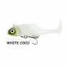 BS1477 BLASTER SHAD MIS. 2 - WHITE COCO