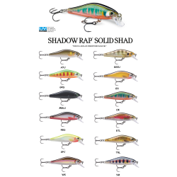 SHADOW RAP SOLID SHAD