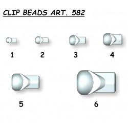 CLIP BEADS STONFO ART. 582/583