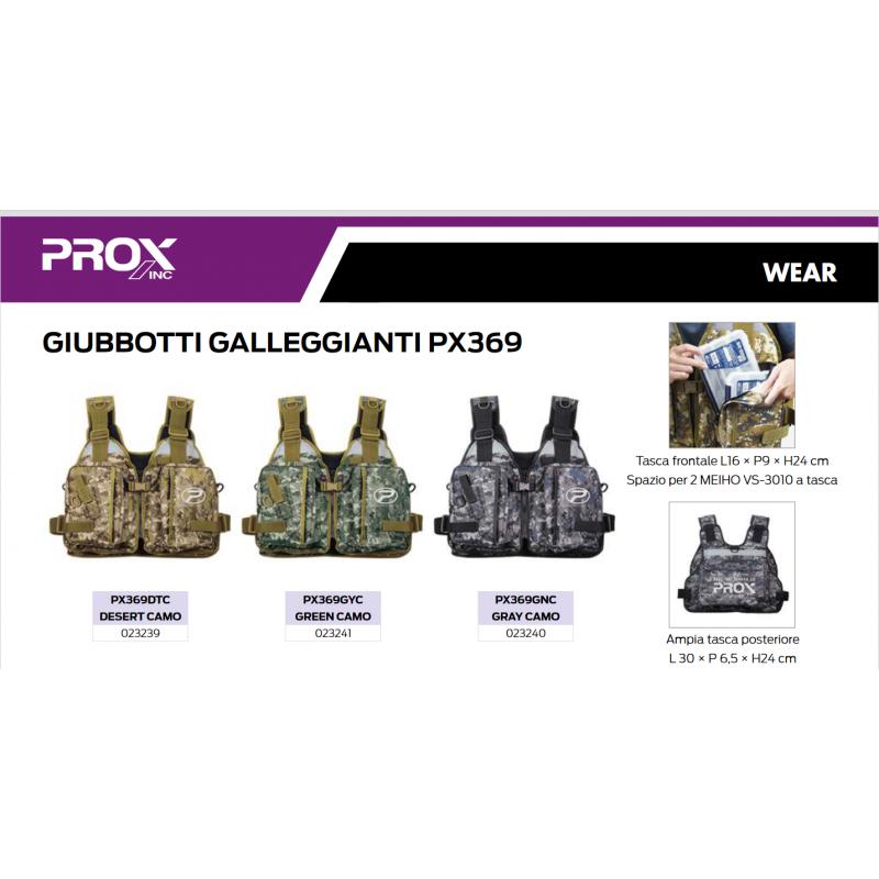 GIUBBOTTO GALLEGGIANTE PROX PX369
